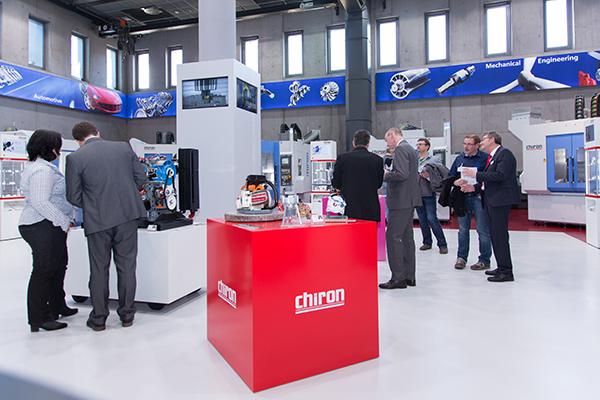 Auf der Open House Messe zeigte CHIRON seine Industrie 4.0 Lösungen